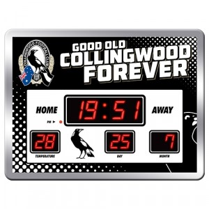 AFL COLLINGWOOD SCOREBOARD CLOCK