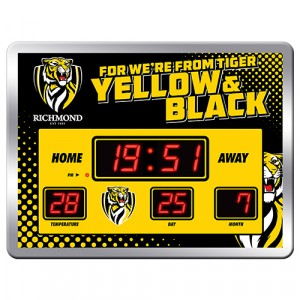 AFL RICHMOND SCOREBOARD CLOCK