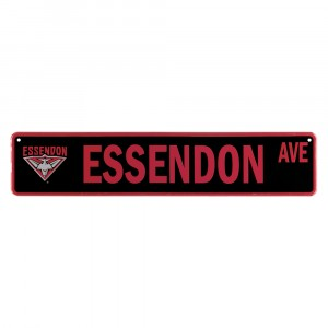 AFL ESSENDON STREET SIGN