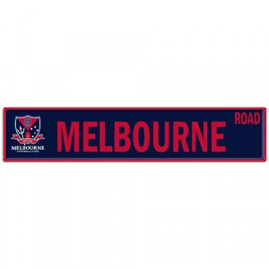 AFL MELBOURNE STREET SIGN