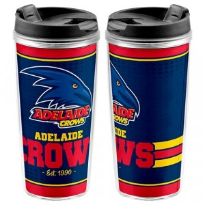 AFL ADELAIDE CROWS TRAVEL MUG