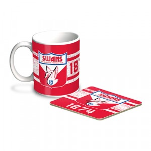 AFL SYDNEY MUG & COASTER PACK