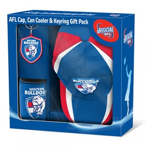 AFL WESTERN BULLDOGS SUPPORTER PACK