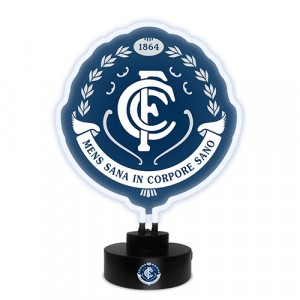 AFL CARLTON NEON LIGHT