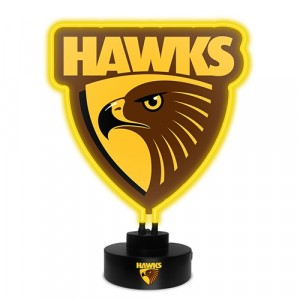 AFL HAWTHORN NEON LIGHT