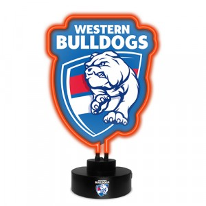 AFL WESTERN BULLDOGS NEON LIGHT
