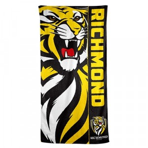 AFL RICHMOND BEACH TOWEL