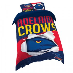 ADELAIDE CROWS AFL DOONA COVER - SINGLE