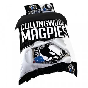 COLLINGWOOD AFL DOONA COVER - SINGLE