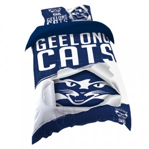 GEELONG CATS AFL DOONA COVER - SINGLE