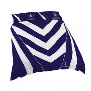 FREMANTLE DOCKERS AFL DOONA COVER