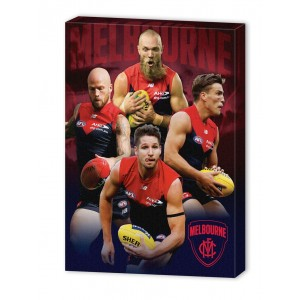 AFL MELBOURNE 4 PLAYER CANVAS