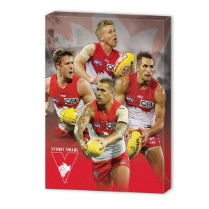 AFL SYDNEY 4 PLAYER CANVAS