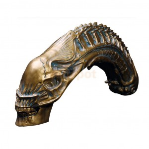 AVP PREDATOR VS ALIEN SKULL SKELETON FIGURE