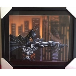 BATMAN COMIC FRAMED PRINT