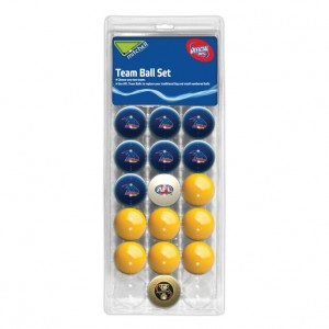 AFL ADELAIDE POOL BALLS TEAM Vs COLOUR - 16 BALL PACK