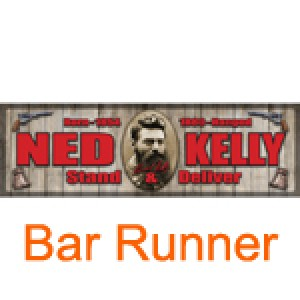 NED KELLY BAR RUNNER