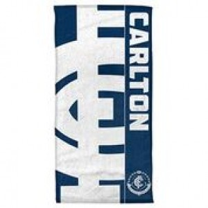 AFL CARLTON BEACH TOWEL