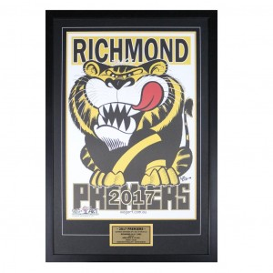 RICHMOND 2017 WEG ART FRAMED POSTER