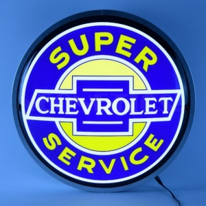 SUPER CHEVROLET LED WALL LIGHT