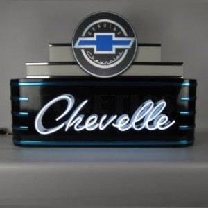 CHEVELLE ART DECO NEON SIGN