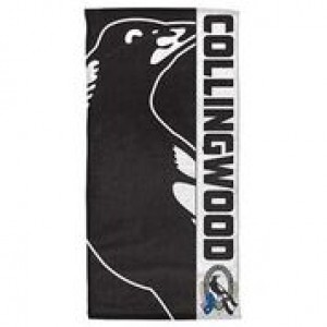 AFL COLLINGWOOD BEACH TOWEL