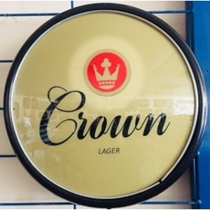 CROWN LAGER BUTTON LIGHT