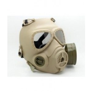 DESERT TAN REPLICA GAS MASK