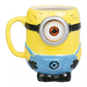 DESPICABLE ME ONE EYED MINION MOULDED MUG
