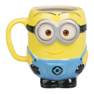 DESPICABLE ME TWO EYED MINION MOULDED MUG