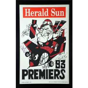 ESSENDON 1993 PREMIERS SIGNED WEG
