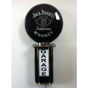 JACK DANIELS ILLUMINATED WALL MOUNTED GARAGE SIGN