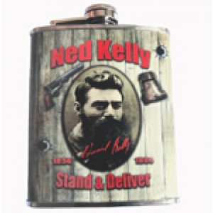 NED KELLY HIP FLASK