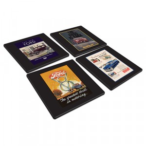 FORD HERITAGE SET OF 4 COASTERS
