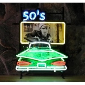 50's DRIVE-IN NEON SIGN