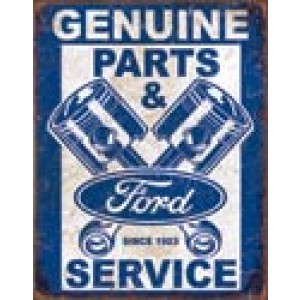 FORD PISTON TIN SIGN