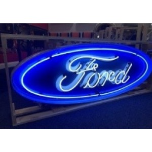 FORD OVAL NEON SIGN - 5 FOOT WIDE