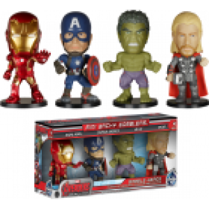 AVENGERS 2 - MINI WACKY WOBBLER 4 PACK