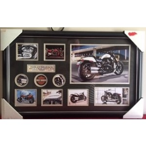 Harley Davidson 2014 V-Rod Night Rod  Framed