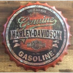 HARLEY GASOLINE  BOTTLE CAP
