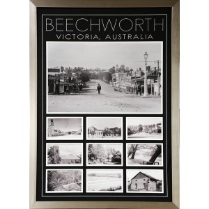HISTORIC TOWN FRAMED PICTURES BEECHWORTH