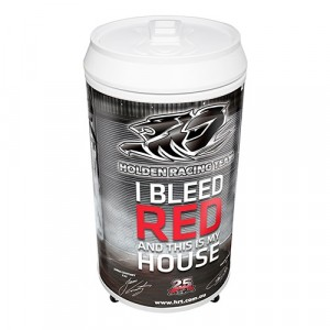 HOLDEN I BLEED RED COOLA CAN BAR FRIDGE
