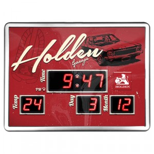 HOLDEN GARAGE DIGITAL CLOCK