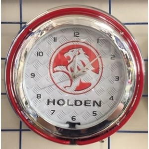 HOLDEN DOUBLE NEON CLOCK