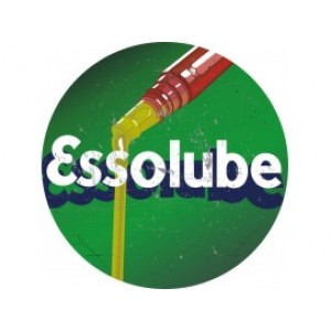 ESSOLUBE LARGE TIN SIGN