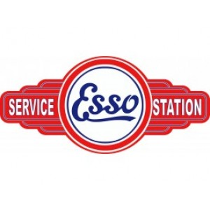 ESSO SERVICE STATION SIGN