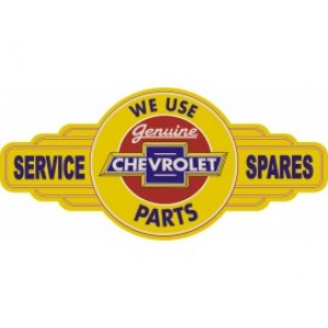 CHEVROLET SERVICE STATION SIGN
