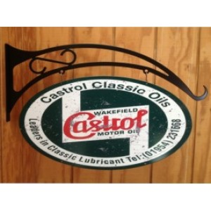 CASTROL DOUBLE SIDED SWING SIGN