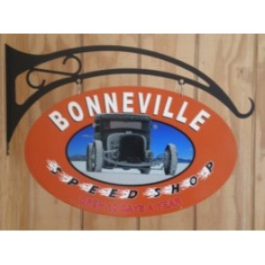 BONNEVILLE DOUBLE SIDED SWING SIGN