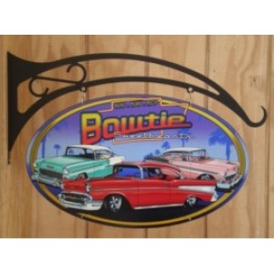 BOWTIE DOUBLE SIDED SWING SIGN